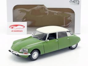 Citroen D Special Baujahr 1972 muscine grün / weiß 1:18 Solido
