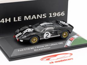 Ford GT40 MK II #2 ganador 24h LeMans 1966 McLaren, Amon 1:43 CMR