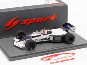 Nelson Piquet Brabham BT52 #5 Brésil GP champion du monde F1 1983 1:43 Spark