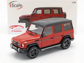 Mercedes-Benz G-Klasse G63 AMG Crazy Colors tomato red 1:18 iScale