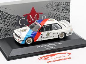 BMW M3 (E30) #2 DTM champion 1987 Eric van de Poele 1:43 CMR