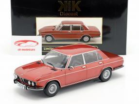 BMW 3.0S E3 serie 2 año de construcción 1971 marrón metálico 1:18 KK-Scale