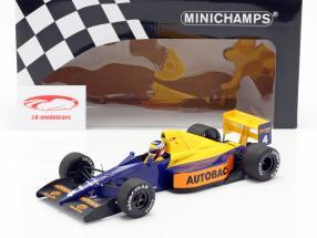 Jean Alesi Tyrrell 018 #4 japonais GP formule 1 1989 1:18 Minichamps