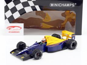 Johnny Herbert Tyrrell 018 #4 belgisk GP formel 1 1989 1:18 Minichamps