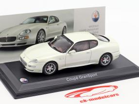 Maserati Coupe GranSport année de construction 2004 blanc métallique 1:43 Altaya