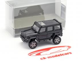 Brabus 4x4² basato su Mercedes-Benz G500 4x4² anno di costruzione 2016 nero 1:87 Minichamps