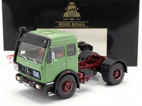 Mercedes-Benz NG 1632 tractor año de construcción 1973 verde 1:18 Road Kings