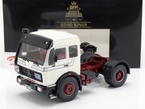 Mercedes-Benz NG 1632 trator ano de construção 1973 branco 1:18 Road Kings