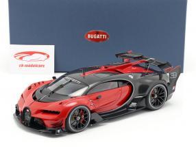 Bugatti visione GT anno di costruzione 2015 italian rosso / carbon nero 1:18 AUTOart