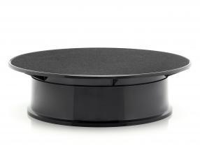 mesa giratória diâmetro ca. 20 cm para carros modelo em escala 1:24 preto AUTOart