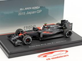 Jenson Button McLaren MP4-30 #22 Giappone GP formula 1 2015 1:43 Ebbro