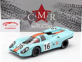 Porsche 917K #16 ganador 1000km Zeltweg 1971 Rodriguez, Attwood 1:18 CMR
