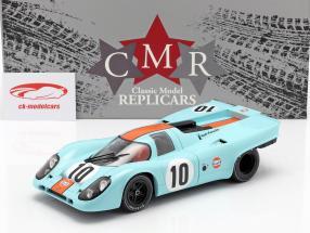 Porsche 917K #10 vincitore 1000km Brands Hatch 1970 Rodriguez, Kinnunen 1:18 CMR