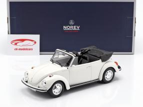 Volkswagen VW 1303 Cabriolet Opførselsår 1972 hvid 1:18 Norev