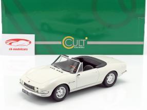 Fiat Dino Spyder année de construction 1966 blanc 1:18 Cult Scale