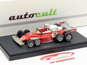 Set yearbook 2019 with year model Ferrari 312 T8 1:43 AutoCult