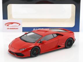 Lamborghini Huracan LP610-4 ano de construção 2014 vermelho metálico 1:18 AUTOart