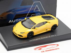 Lamborghini Huracan LP 610-4 year 2014 yellow metallic 1:43 AUTOart