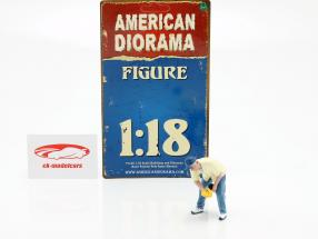 Figur 6 Weekend Car Show 1:18 American Diorama