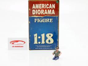 figure A Seated Couple IV 1:18 American Diorama