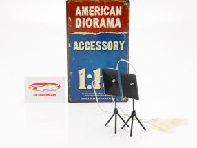 Fotograf Belysning sæt 1:18 American Diorama