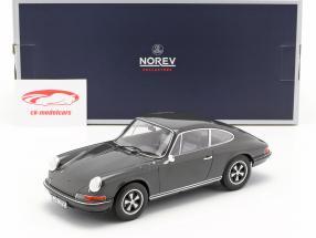 Porsche 911 S Steve McQueen MovieCar Film Le Mans (1971) schiefergrau 1:18 Norev