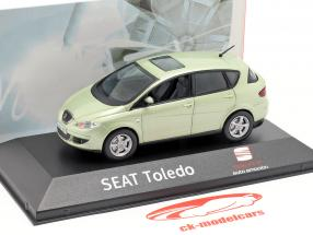 Seat Toledo III fresco groen 1:43 Seat