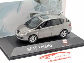 Seat Toledo III sombra gris métallique 1:43 Seat