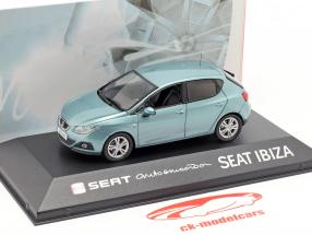 Seat Ibiza IV azzurro 1:43 Seat