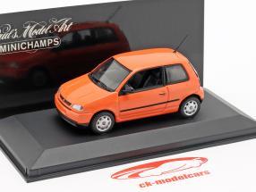 Seat Arosa año de construcción 1997 brillante naranja 1:43 Minichamps
