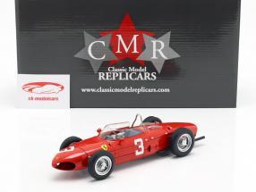W. Graf Berghe v. Trips Ferrari 156 Sharknose #3 Sieger Niederlande GP F1 1961 1:18 CMR