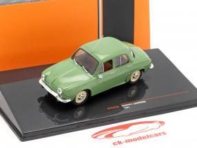 Renault Dauphine ano de construção 1961 verde 1:43 Ixo