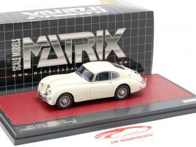 Jaguar XK150 S 3.8 Fastback by Hartin 1960 crema blanco 1:43 Matrix