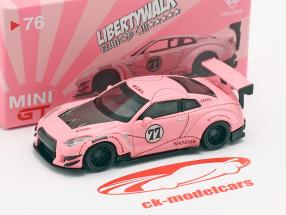 LB-Works Nissan G-TR (R35) typen 2 LHD Pink Pig 1:64 TrueScale