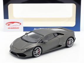 Lamborghini Huracan LP610-4 Année 2014 titane mat gris 1:18 AUTOart