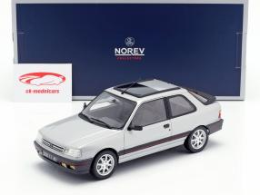 Peugeot 309 GTi ano de construção 1987 futura cinza metálico 1:18 Norev