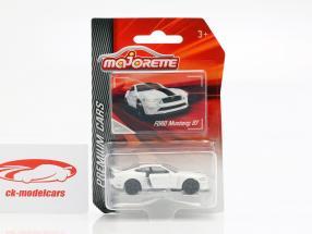 Ford Mustang GT blanco 1:64 Majorette