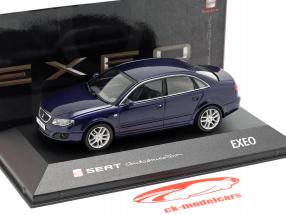 Seat Exeo limousine ada blue metallic 1:43 Seat
