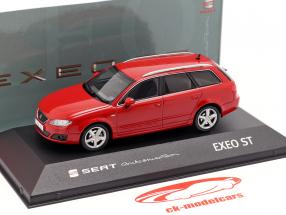 Seat Exeo ST year 2009 emotion red 1:43 Seat