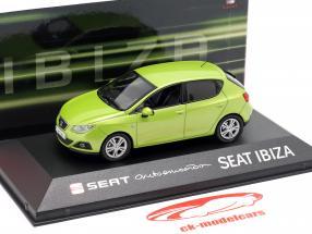 Seat Ibiza IV Baujahr 2008-2017 amarillo citrus grün metallic 1:43 Seat