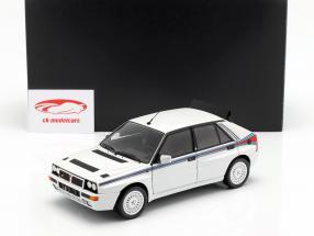 Lancia Delta HF Integrale 5 Bouwjaar 1991 wit / Martini livrei 1:18 Kyosho