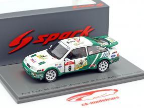 Ford Sierra RS Cosworth #8 Winner Rallye Tour de Corse 1988 1:43 Spark