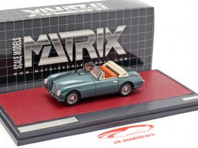 Aston Martin DB2 Vantage DHC Open Top 1951 grün metallic 1:43 Matrix