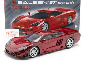 Saleen S7 Twin Turbo year 2005 red metallic 1:12 MotorMax