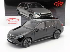 Mercedes-Benz EQC 4matic (N293) year 2019 black 1:18 NZG