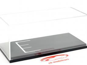 Vitrine mit Gitterlinienfläche für Modellautos im Maßstab 1:43 BBR