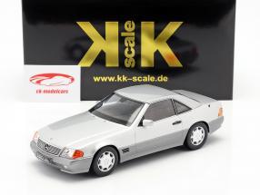 Mercedes-Benz 500 SL (R129) Opførselsår 1993 sølv 1:18 KK-Scale