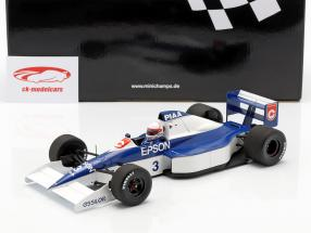 Satoru Nakajima Tyrrell 018 #3 6 USA GP formule 1 1990 1:18 Minichamps