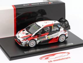 Toyota Yaris WRC #7 3ª Rallye Monte Carlo 2018 Latvala, Anttila 1:43 Spark