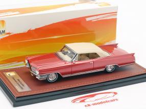 Cadillac Eldorado Convertible Closed Top year 1964 red metallic 1:43 GLM